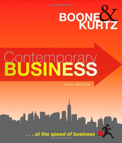 9780470531297: Contemporary Business