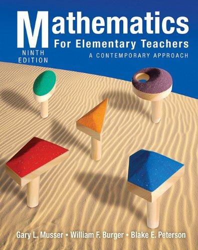 9780470531341: Mathematics for Elementary Teachers: A Contemporary Approach
