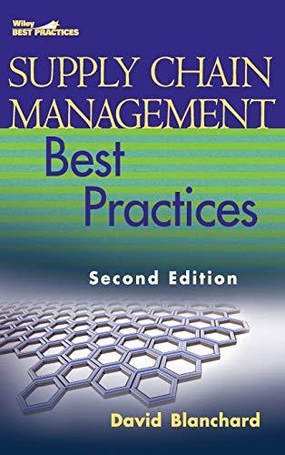 9780470531884: Supply Chain Management Best Practices