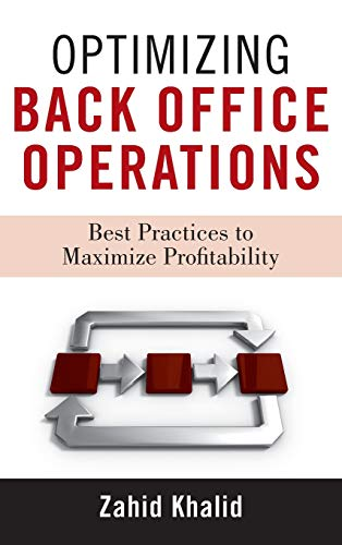 9780470531891: Optimizing Back Office Operations: Best Practices to Maximize Profitability