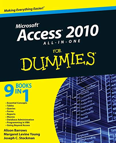 9780470532188: Access 2010 All-in-One For Dummies (For Dummies Series)