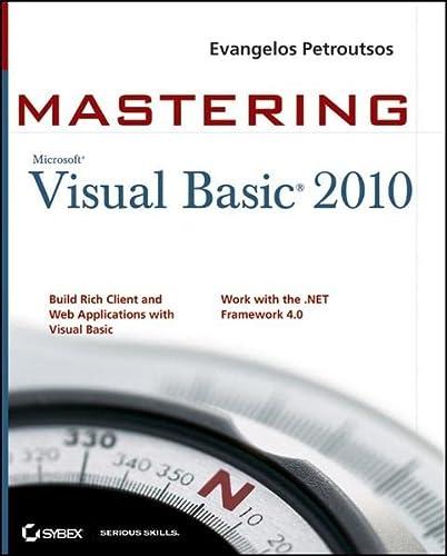 9780470532874: Mastering Microsoft Visual Basic 2010