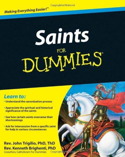 9780470533581: Saints For Dummies