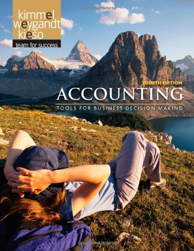 9780470534786: Accounting: Tools for Business Decision Making