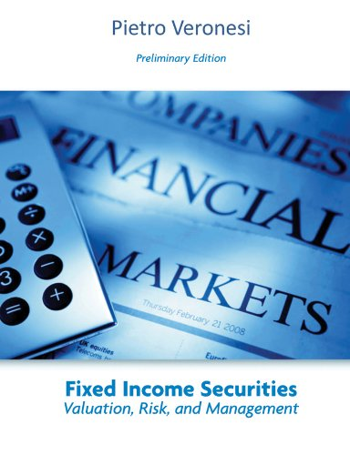 9780470534823: Fixed Income Securities: Valuation, Risk, and Risk Management