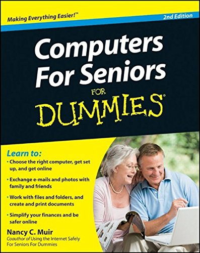 Computers for Seniors for Dummies (For Dummies (Computers)) 9780470534830 Great advice on choosing a computer, getting online, and having fun! Computers are an essential part of daily life these days, but they can be a bit intimidating at first. Computers For Seniors For Dummies, 2nd Edition gets you going with lots of illustrations and easy-to-follow-instructions, never assuming you already know more than you do. You'll learn to use the keyboard and mouse, navigate the Windows 7 operating system, access the Internet and use e-mail, create documents, shop safely online, and more. Shows you how to choose the right computer, get it set up, and get going Explains how to connect to the Internet and keep up with family and friends via e-mail Helps you create documents, work with files and folders, simplify your finances, and build a budget using a spreadsheet Discusses how to use social networking sites and how to shop and bank online without compromising your privacy Offers tips and advice to help you avoid common pitfalls With Computers For Seniors For Dummies, 2nd Edition by your side, you'll be able to use the computer with confidence and take advantage of all it has to offer.