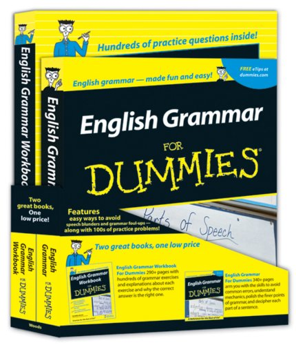 9780470537046: English Grammar For Dummies Education Bundle
