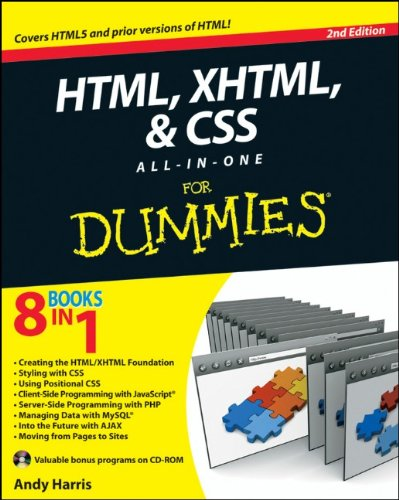 9780470537558: HTML, XHTML and CSS All-In-One For Dummies