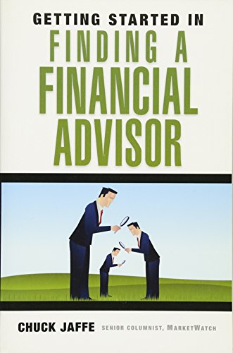 9780470538784: Getting Started in Finding a Financial Advisor