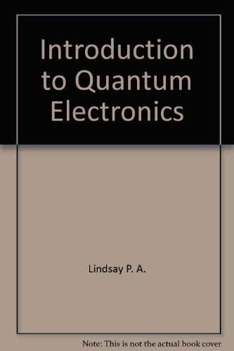 9780470538913: Introduction to Quantum Electronics