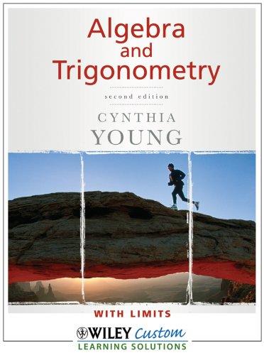 9780470539057: Algebra and Trigonometry