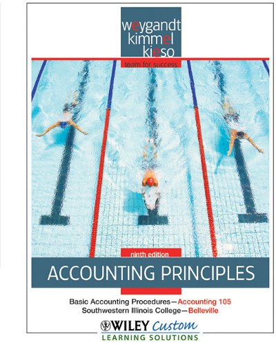 9780470539118: Accounting Principles 9th Edition for SouthWestern Illinois College-Belleville