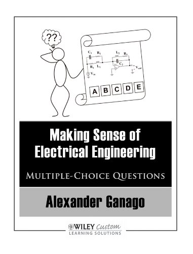 9780470539378: MAKING SENSE OF ELECTRICAL ENGINEERING : MULTIPLE-CHOICE QUESTIONS