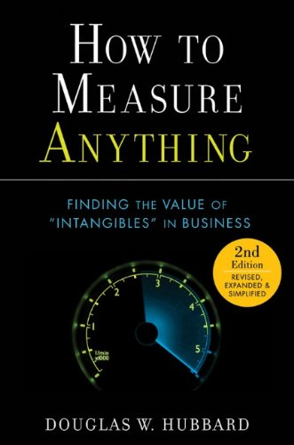 9780470539392: How to Measure Anything: Finding the Value of Intangibles in Business