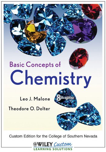 9780470540558: Basic Concepts of Chemistry