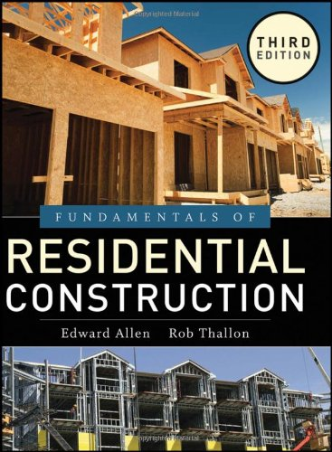 9780470540831: Fundamentals of Residential Construction
