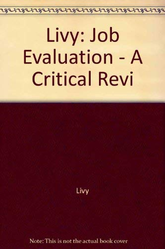 Livy: Job Evaluation - A Critical Revi: Livy
