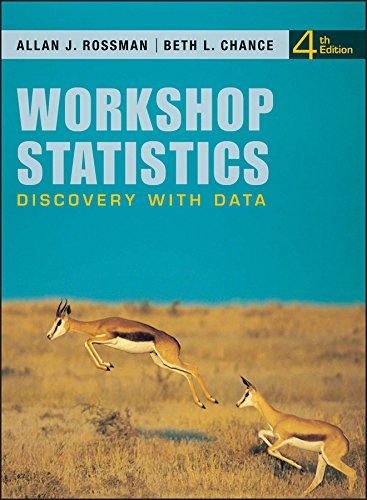 9780470542095: Workshop Statistics: Discovery with Data