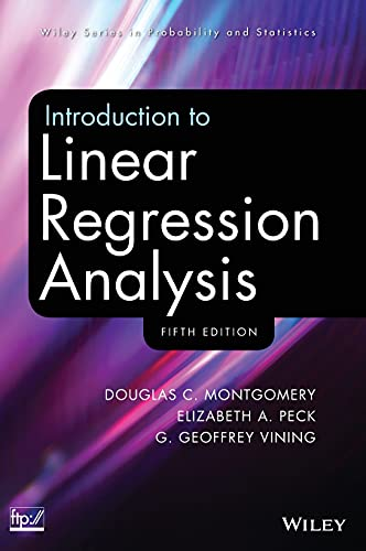 9780470542811: Introduction to Linear Regression Analysis