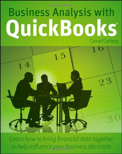 9780470543146: Business Analysis with QuickBooks