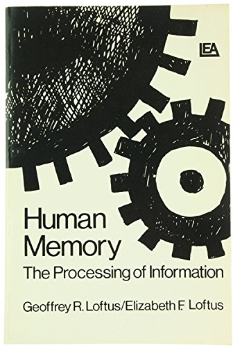 9780470543375: Human Memory: The Processing of Information