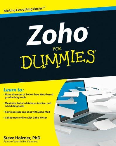 9780470543856: Zoho for Dummies