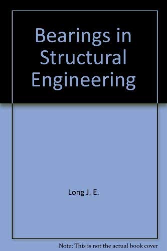 9780470544563: Bearings in structural engineering