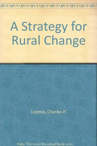9780470544808: A Strategy for Rural Change