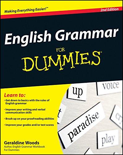 9780470546642: English Grammar for Dummies