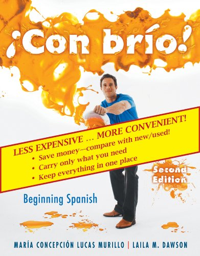 9780470546895: Con brio! 2nd Edition Student Text w/ Audio CDs Binder Ready Version (Spanish Edition)