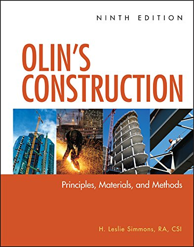 9780470547403: Olin's Construction: Principles, Materials, and Methods