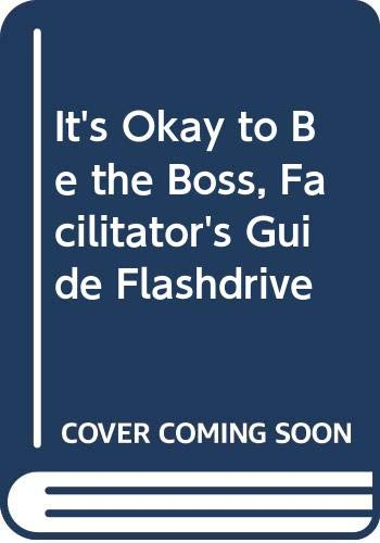 It's Okay to Be the Boss, Facilitator's Guide Flashdrive (0470547588) by Bruce Tulgan