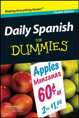 9780470548196: Daily Spanish for Dummies Pocket Edition