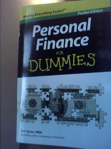 9780470548240: Personal Finance for Dummies ~POCKET EDITION