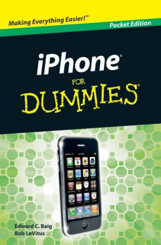 9780470548509: iPhone for Dummmies Pocket Edition