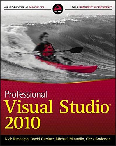9780470548653: Professional Visual Studio 2010