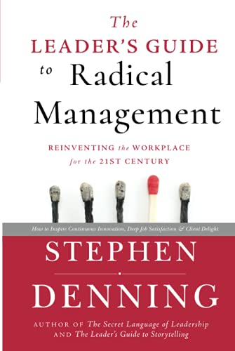 9780470548684: The Leader's Guide to Radical Management: Reinventing the Workplace for the 21st Century