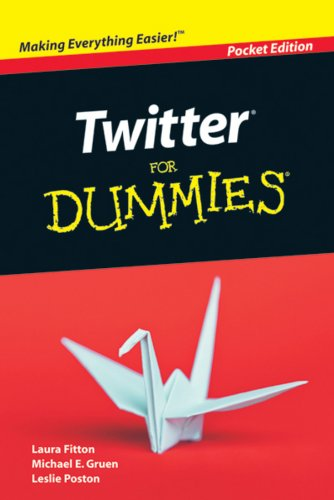 9780470548721: Twitter for Dummies Pocket Edition