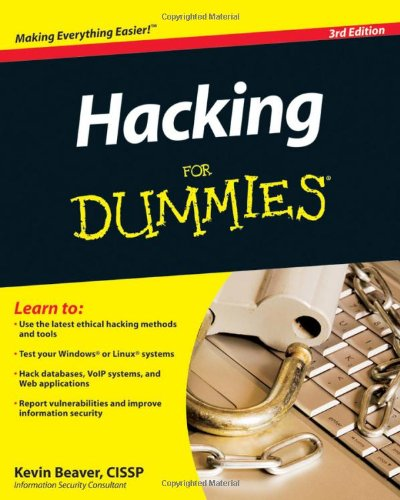 9780470550939: Hacking for Dummies