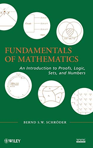 9780470551387: Fundamentals of Mathematics: An Introduction to Proofs, Logic, Sets, and Numbers