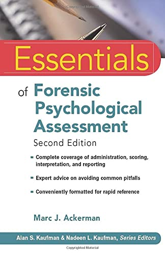 9780470551684: Essentials of Forensic Psychological Assessment