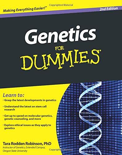 9780470551745: Genetics For Dummies
