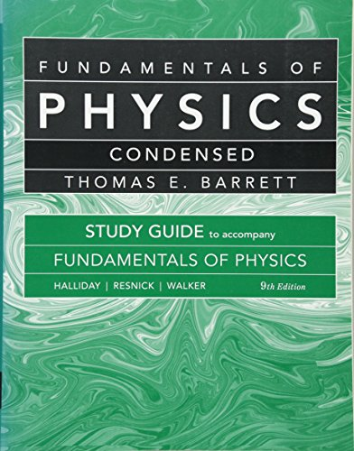 9780470551820: Student Study Guide for Fundamentals of Physics