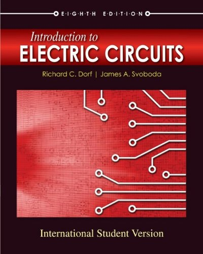 9780470553022: Introduction to Electric Circuits, 8th Edition International Student Editio