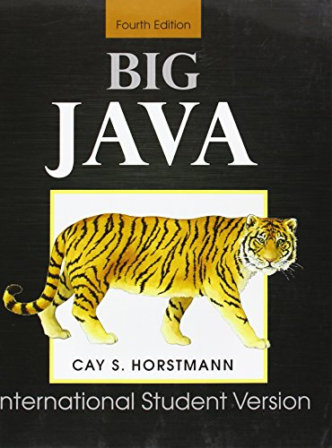 9780470553091: Big Java (For Java 7 & 8)