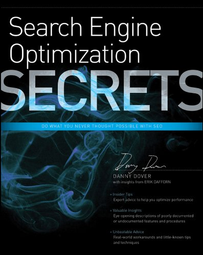 9780470554180: Search Engine Optimization Secrets: Do What You Never Thought Possible with SEO
