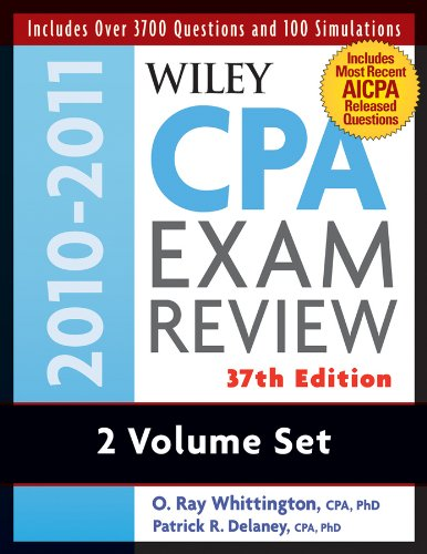 9780470554265: Wiley CPA Examination Review, Set (Wiley CPA Examination Review: Outlines & Study Guides / Problems & Solutions (2v.)) (Volumes 1 and 2)