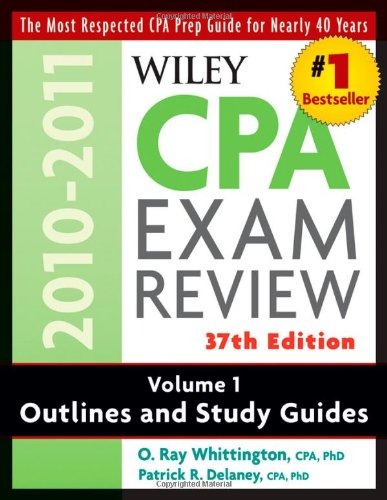9780470554272: Wiley CPA Examination Review, Outlines and Study Guides (Wiley CPA Examination Review Vol. 1: Outlines & Study Guides) (Volume 1)