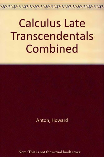 9780470554609: Calculus Late Transcendentals Combined