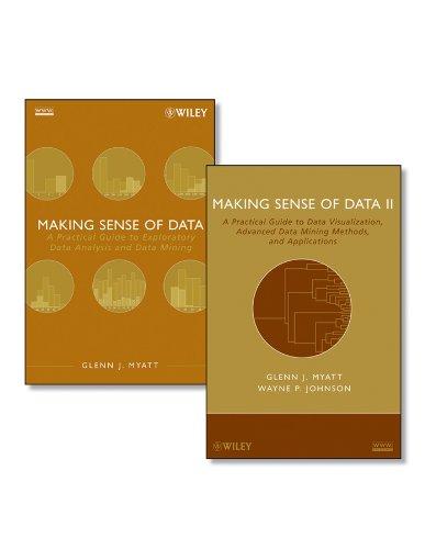Making Sense of Data Set: Myatt, Glenn J.